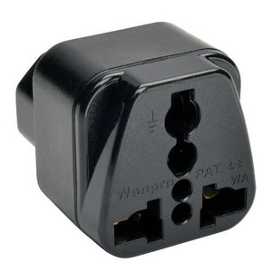 Multi-International Power Plug Adapter for IEC-320-C13 Outlets (tripp_UNIPLUGINT)