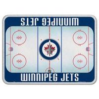Winnipeg Jets Glass Cutting Board