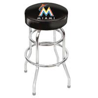 Miami Marlins Bar Stool