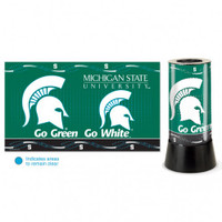 Michigan State Spartans Rotating Team Lamp