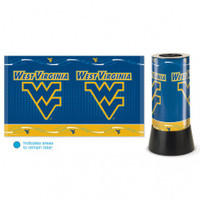 West Virginia Mountaineers Rotating Team Lamp