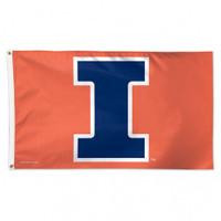 Illinois Fighting Illini NCAA 3x5 Team Flag