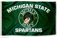 Michigan State Spartans NCAA 3x5 Team Flag