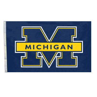 Michigan Wolverines NCAA 3x5 Team Flag