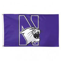 Northwestern Wildcats NCAA 3x5 Team Flag