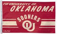 Oklahoma Sooners 3' x 5' Team Flag