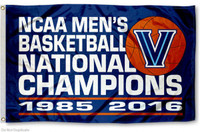 Villanova Wildcats 2X NCAA Men's National Basketball Champions 3' x 5' Team Flag