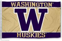 Washington Huskies NCAA 3x5 Team Flag