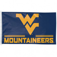 West Virginia Mountaineers NCAA 3x5 Team Flag