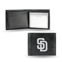 San Diego Padres Embroidered Billfold Leather Wallet