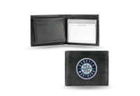 Seattle Mariners Embroidered Billfold Leather Wallet