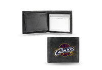 Cleveland Cavaliers Embroidered Billfold Leather Wallet