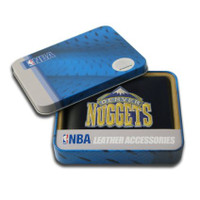 Denver Nuggets Embroidered Billfold Leather Wallet