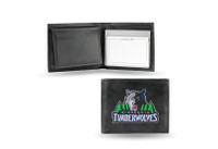 Minnesota Timberwolves Embroidered Billfold Leather Wallet