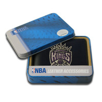Sacramento Kings Embroidered Billfold Leather Wallet