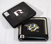 Nashville Predators Embroidered Billfold Leather Wallet