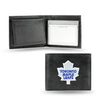 Toronto Maple Leafs Embroidered Billfold Leather Wallet