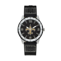 New Orleans Saints Team Leather Watch by Sparo