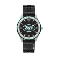 New York Jets Team Leather Watch by Sparo