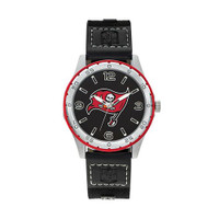 Tampa Bay Buccaneers Team Leather Watch by Sparo