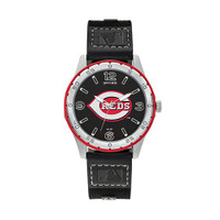 Cincinnati Reds Team Leather Watch by Sparo