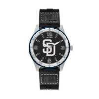 San Diego Padres Team Leather Watch by Sparo