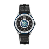 Seattle Mariners Team Leather Watch by Sparo