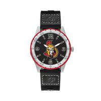 Ottawa Senators Team Leather Watch by Sparo