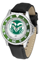 Colorado State Rams Competitor Leather Watch White Dial
