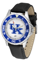 Kentucky Wildcats Competitor Leather Watch White Dial