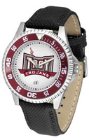 USC Trojans Competitor Leather Watch White Dial