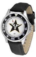 Vanderbilt Commodores Competitor Leather Watch White Dial