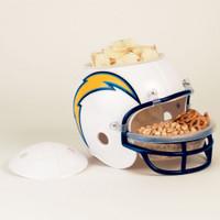San Diego Chargers Snack Helmet