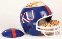 Kansas Jayhawks Snack Helmet