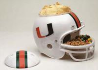 Miami Hurricanes Snack Helmet