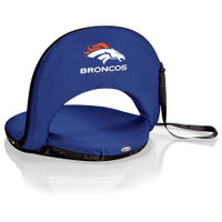 Denver Broncos Reclining Stadium Seat Cushion