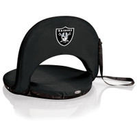 Oakland Raiders Reclining Stadium Seat Cushion