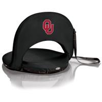 Oklahoma Sooners Reclining Stadium Seat Cushion