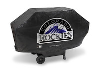 Colorado Rockies Deluxe Barbecue Grill Cover