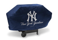 New York Yankees Deluxe Barbecue Grill Cover