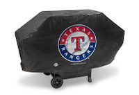 Texas Rangers Deluxe Barbecue Grill Cover