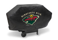 Minnesota Wild Deluxe Barbecue Grill Cover
