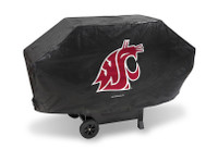 Washington State Cougars Deluxe Barbecue Grill Cover