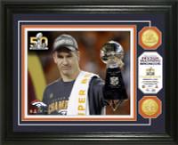 ***Denver Broncos Peyton Manning Super Bowl 50 Champions Photo Mint LE