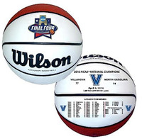 Villanova Wildcats 2016 NCAA National Champions Full Size Commemorative Leather Basketball LE 5,000