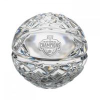 Villanova Wildcats 2016 NCAA National Champions Solid Mini Commemorative Crystal Basketball LE 5,000