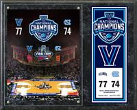 Villanova Wildcats 12'' x 15'' 2016 NCAA Men's Basketball National Champions Composite Plaque w/Scores