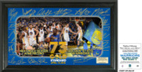"Golden State Warriors 73 Win Record ""Signature Celebration"" Framed Photo Mint LE 5000"