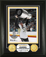 Pittsburgh Penguins 2016 Stanley Cup Champions Phil Kessell Bronze Coin Photo Mint