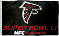 Atlanta Falcons 2016 NFC Champions Super Bowl LI 3' x 5' Flag